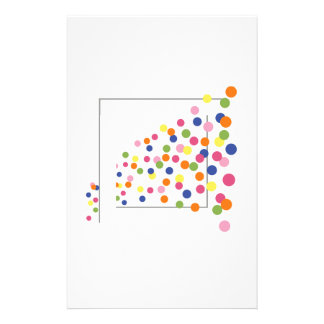 Framed Circles Stationery