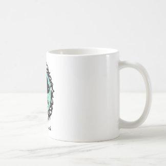 Framed Dachshund Illustration Coffee Mug