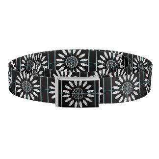 Framed daisy belt