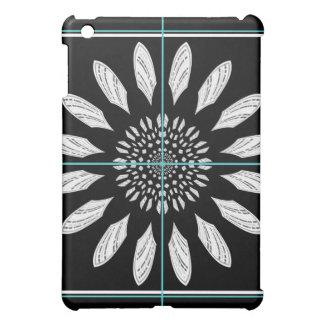 Framed daisy cover for the iPad mini