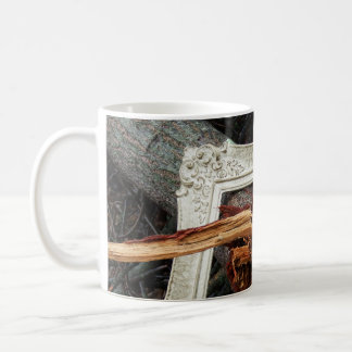 Framed Fallen Tree Photographic Art Coffee Mug