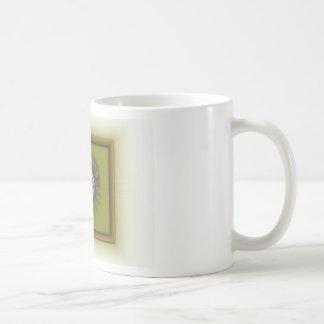 Framed Flower Classic White Coffee Mug