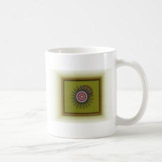 Framed Flower Coffee Mugs
