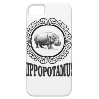 Framed Hippo iPhone 5 Case