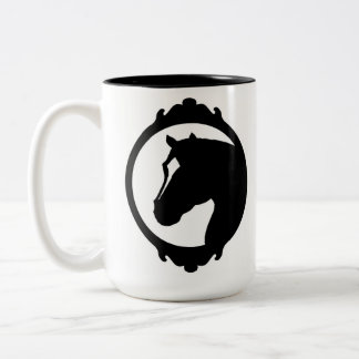 Framed Horse Coffee Mugs