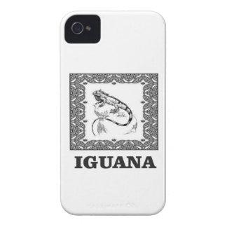 framed iguana yeah iPhone 4 cover
