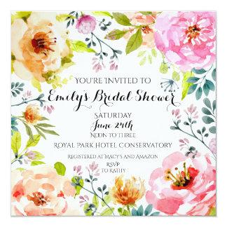 Framed in Floral Card