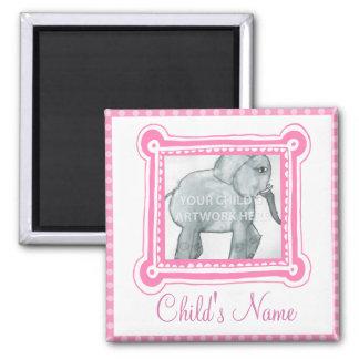 Framed in Pink Magnet  $3.65