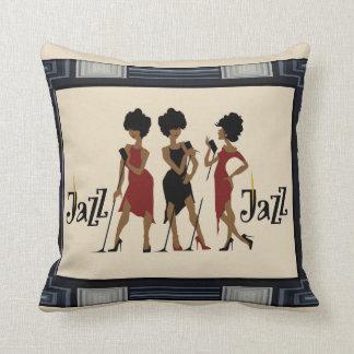 Framed Jazz  Reversible Decorative Pillow