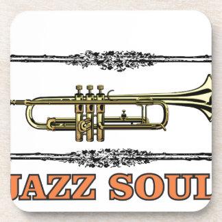 framed jazz soul beverage coasters
