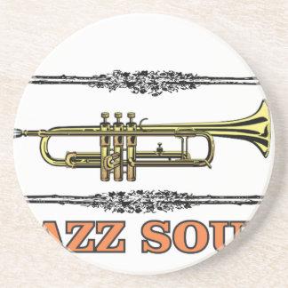 framed jazz soul coaster