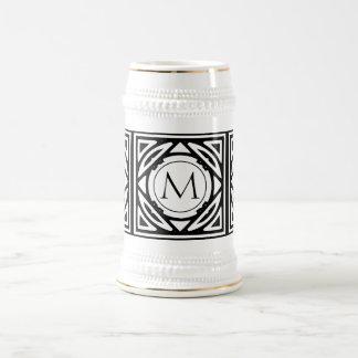 Framed Monogram Beer Steins