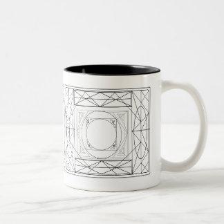 Framed Two-Tone Mug