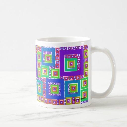 framed coffee mug