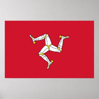 Framed print with Isle of Man, United Kingdom