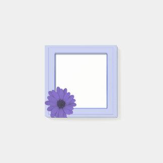 Framed Purple Flower  Post-it® Notes