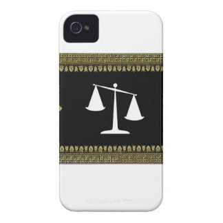 framed scales of justice Case-Mate iPhone 4 cases