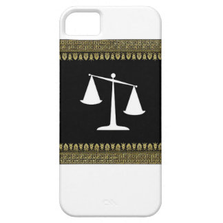 framed scales of justice iPhone 5 covers
