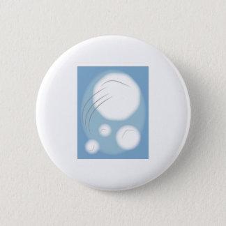 Framed Snowballs 2 Inch Round Button