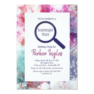 Framed You Pick Color Invitation