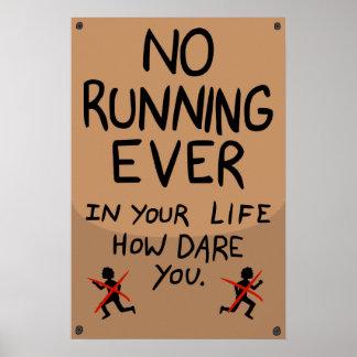 Framptown Running Poster