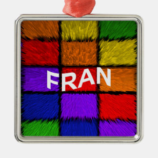 FRAN METAL ORNAMENT