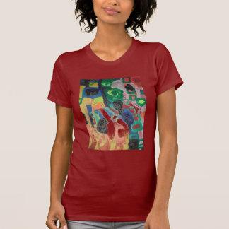 francais d'abtraction t-shirt