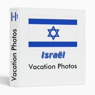 Français de Drapeau Israël avec le nom en