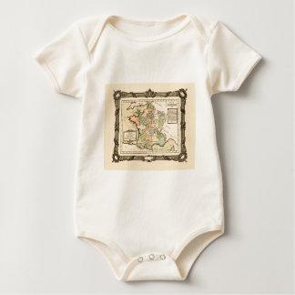 France 1765 baby bodysuit
