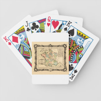 France 1765 bicycle playing cards