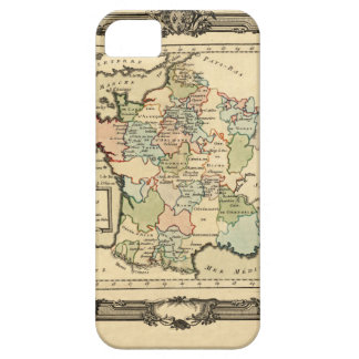 France 1765 iPhone 5 cover