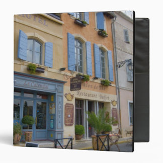 France, Arles, Provence, hotel and restaurant 3 Ring Binder
