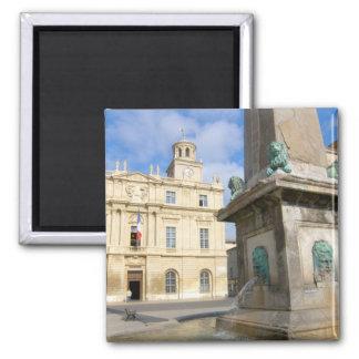 France, Arles, Provence, Place de la Magnet