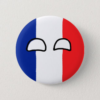 France Ball 2 Inch Round Button