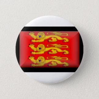 France-Basse Normandie Flag 2 Inch Round Button