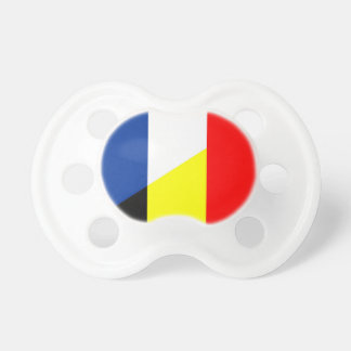 france belgium flag country symbol flag pacifier