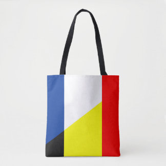 france belgium flag country symbol flag tote bag