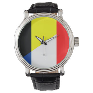 france belgium flag country symbol flag watch