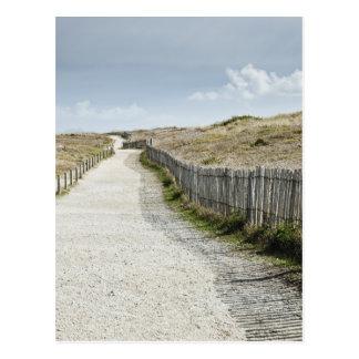France, Brittany, Morbihan Department, Coastal Postcard