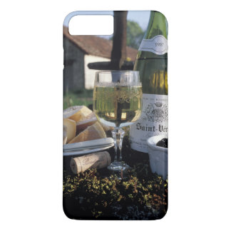 France, Burgundy, Chablis. Local wine and Case-Mate iPhone Case
