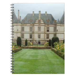 France, Burgundy, Cormatin, Chateau de Cormatin, Note Books