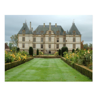 France, Burgundy, Cormatin, Chateau de Cormatin, Postcard