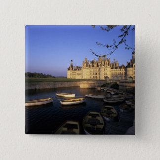 France, Centre, Loir et Cher, Chateau Chambord 2 Inch Square Button