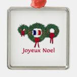 France Christmas 2 Ornaments
