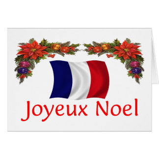 France Christmas Greeting Cards