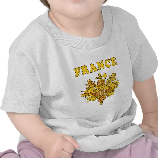 France Coat Of Arms Designs Tees