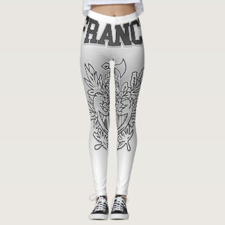 France Coat of Arms Leggings