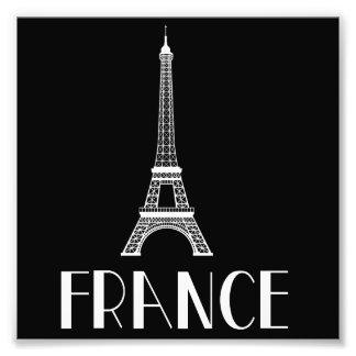 France Eiffel Tower Photo Print
