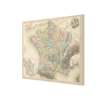 France Feodale Canvas Print