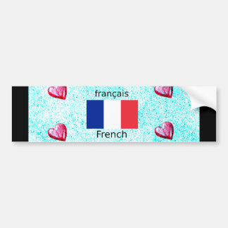 French country bumper stickers french country car decal for R language architecture